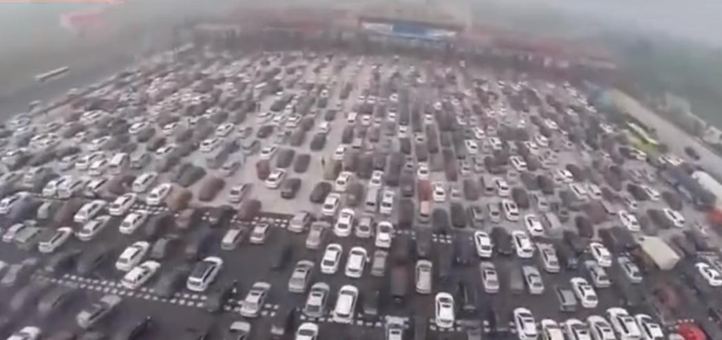 You Don't Want to Get Stuck in This Traffic Jam