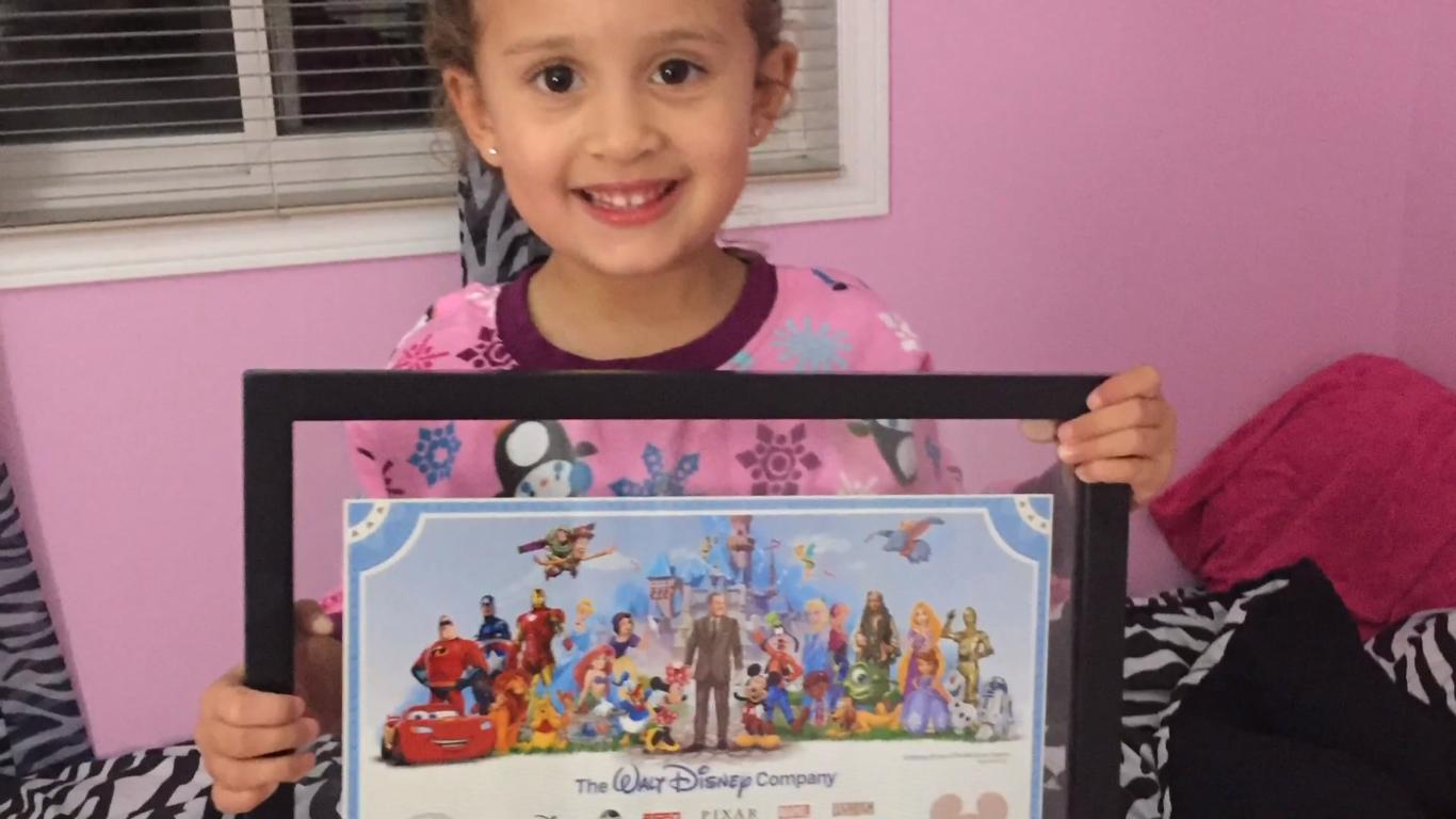 Dad Gives Daughter Disney Stock for Her Birthday