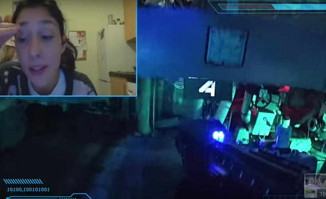 The Real Life FPS Game on Chatroulette is Back