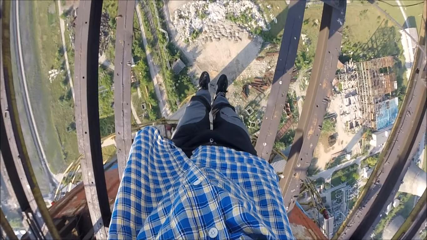 They Sleep in Hammocks at the Top of a 650 Feet Tall Tower
