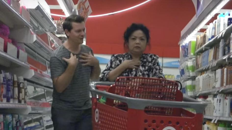 This Guy Scares People at Target and It's Hilarious