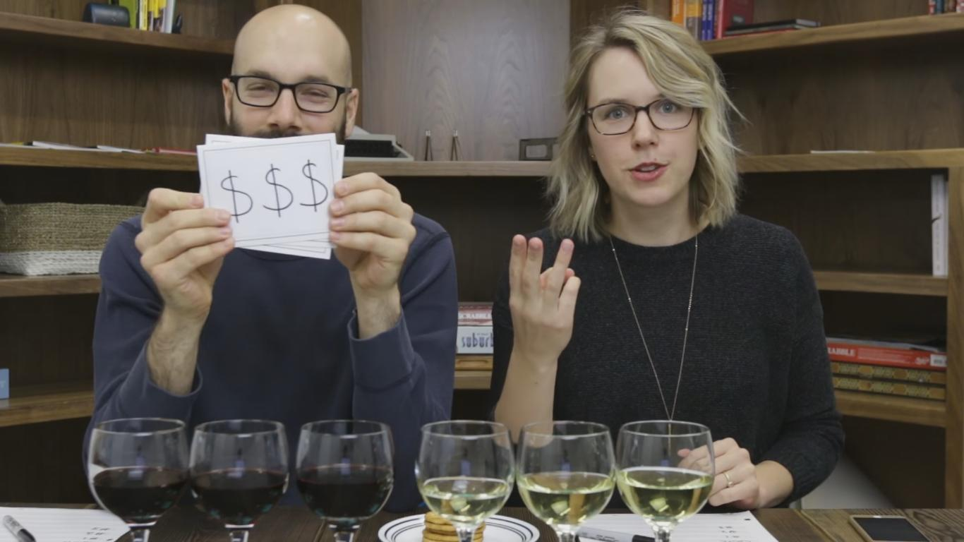 Could You Guess a Wine Bottle Price Point Just by Tasting It?