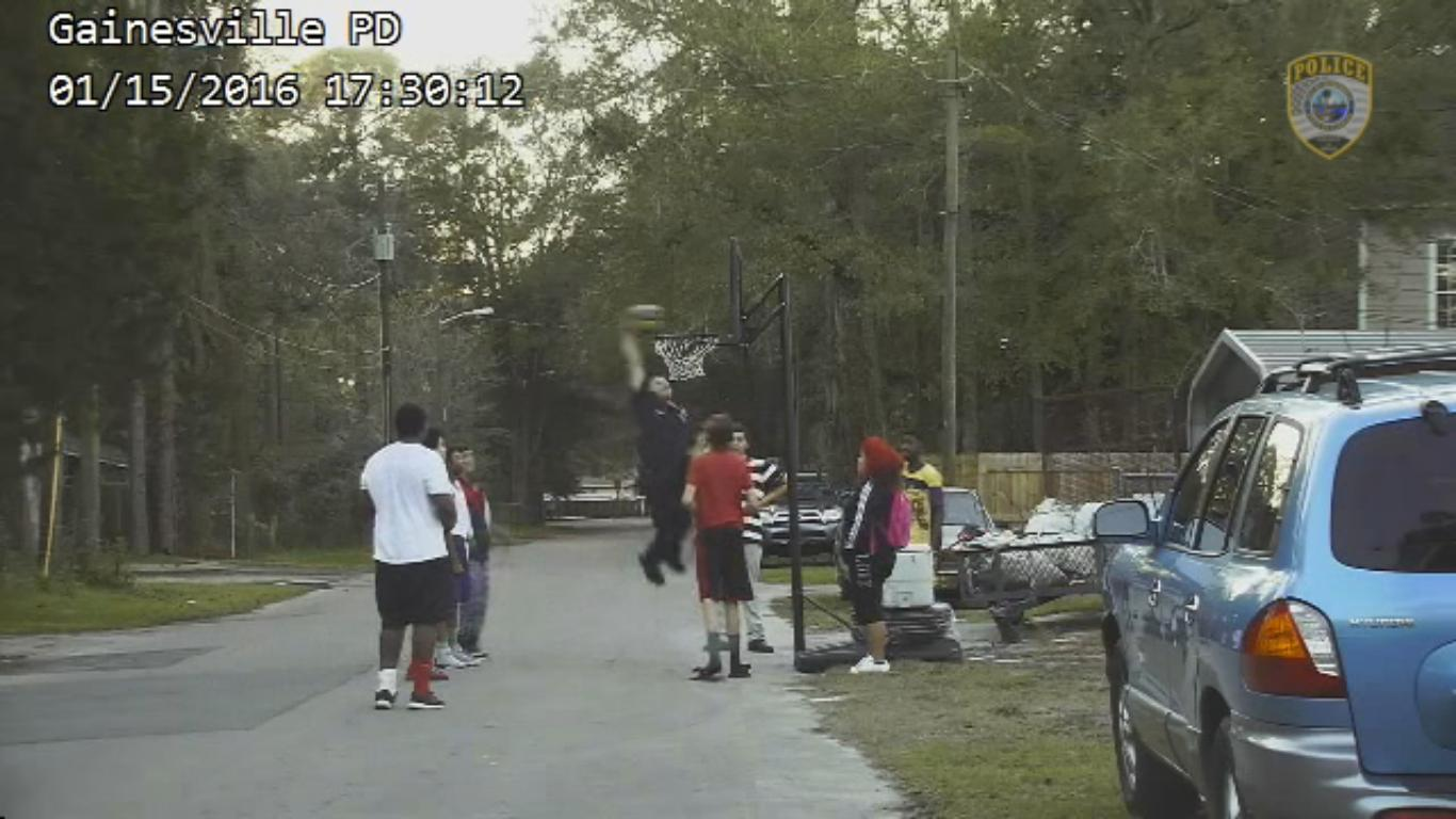 Police Officer Hilarious Response to Loud Basketball Complaint