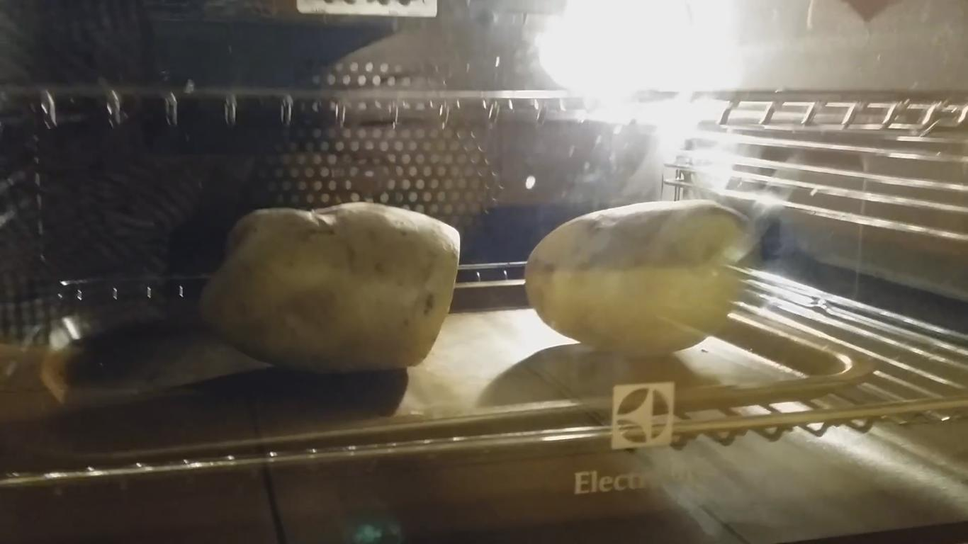 This Baking Potato Won't Stop Moving for Some Reason