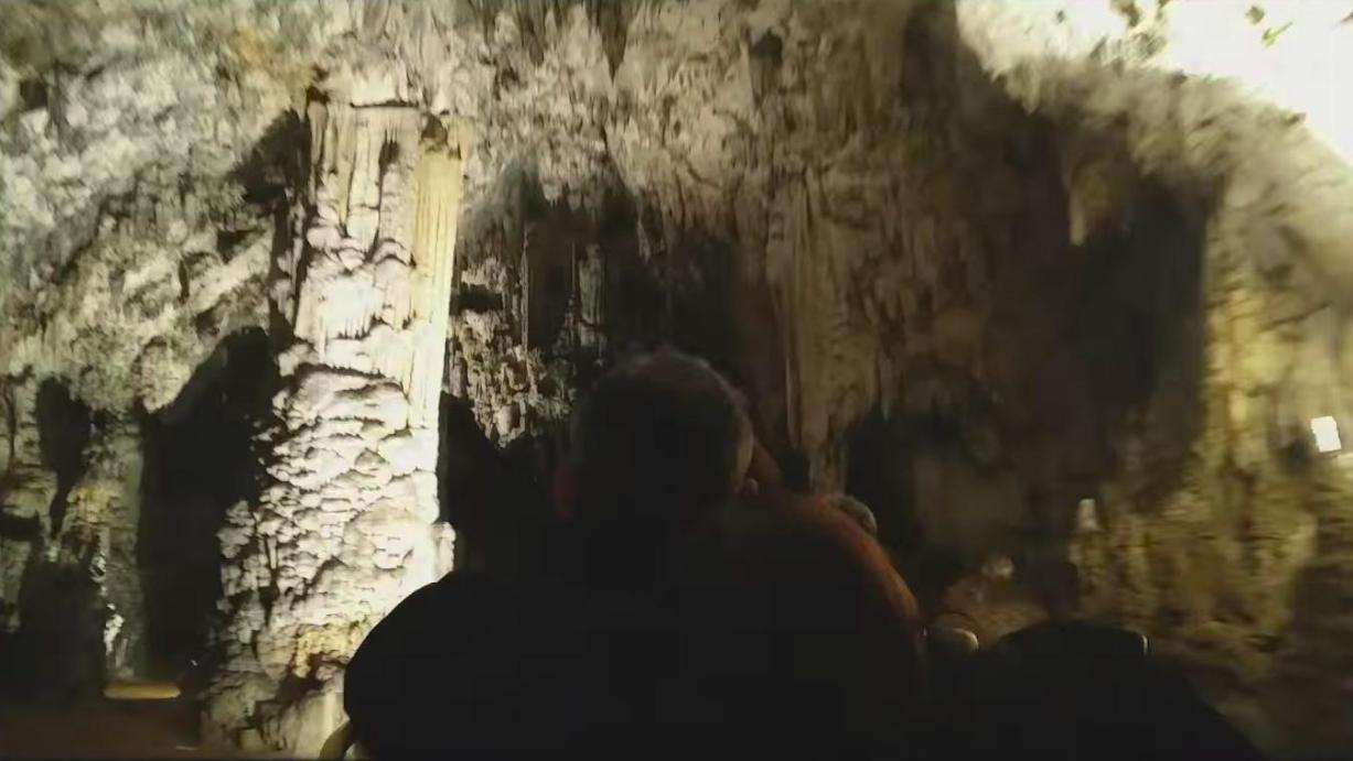 Timelapse of a Ride in a Slovenian Cave 377 Feet Below the Ground