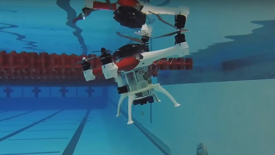 This Strange Drone Can Fly Underwater