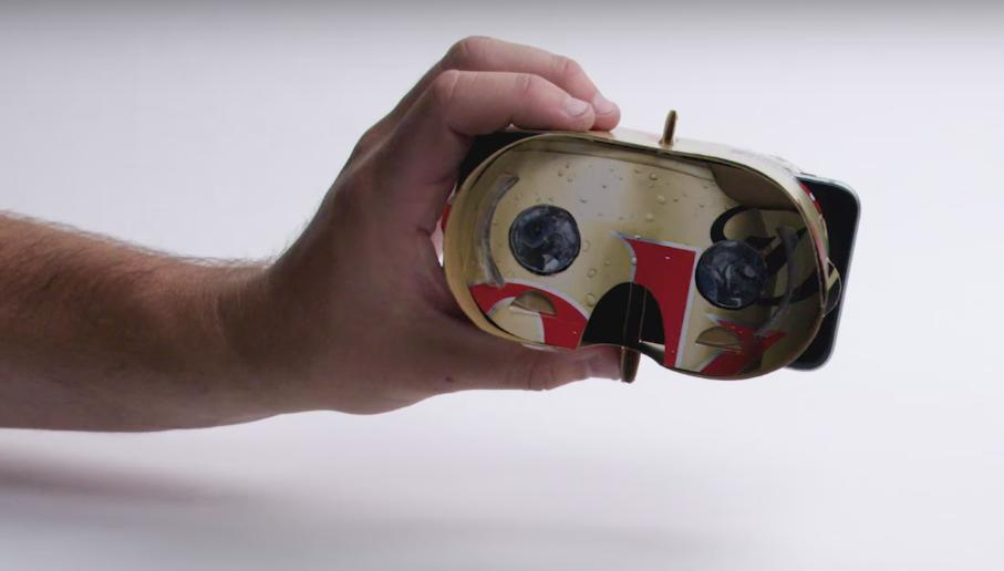 Coca Cola Packaging Transforms Into a Carboard Virtual Reality Headset