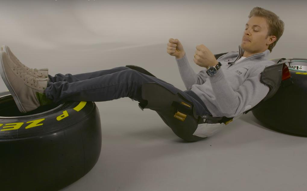 F1 Driver Explains His Seat and Driving Position