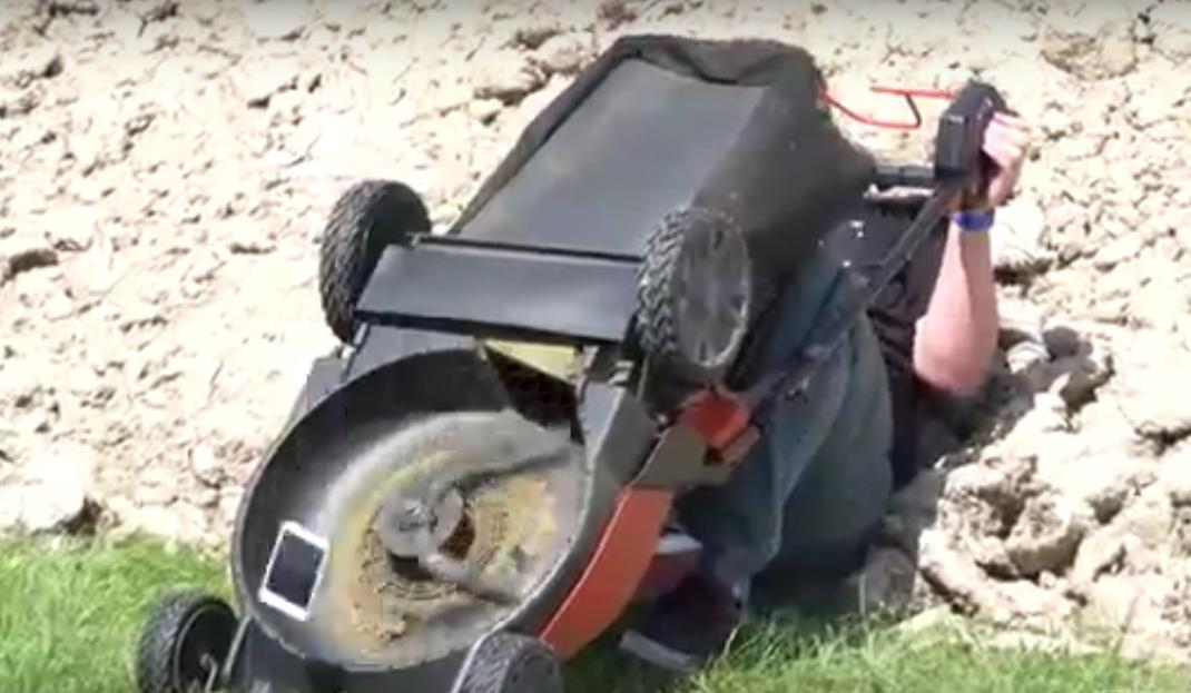 Watch These iPhone 6s Being Thrown Into a Lawn Mower