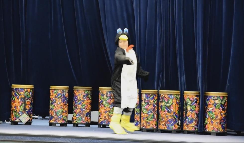 This Boy's Talent Show Performance Is an Awesome Penguin Dance
