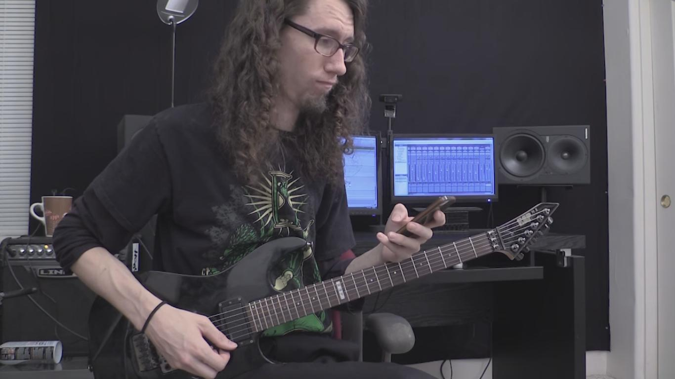 This Guy Just Made a Metal Cover of the Famous iPhone Ringtone