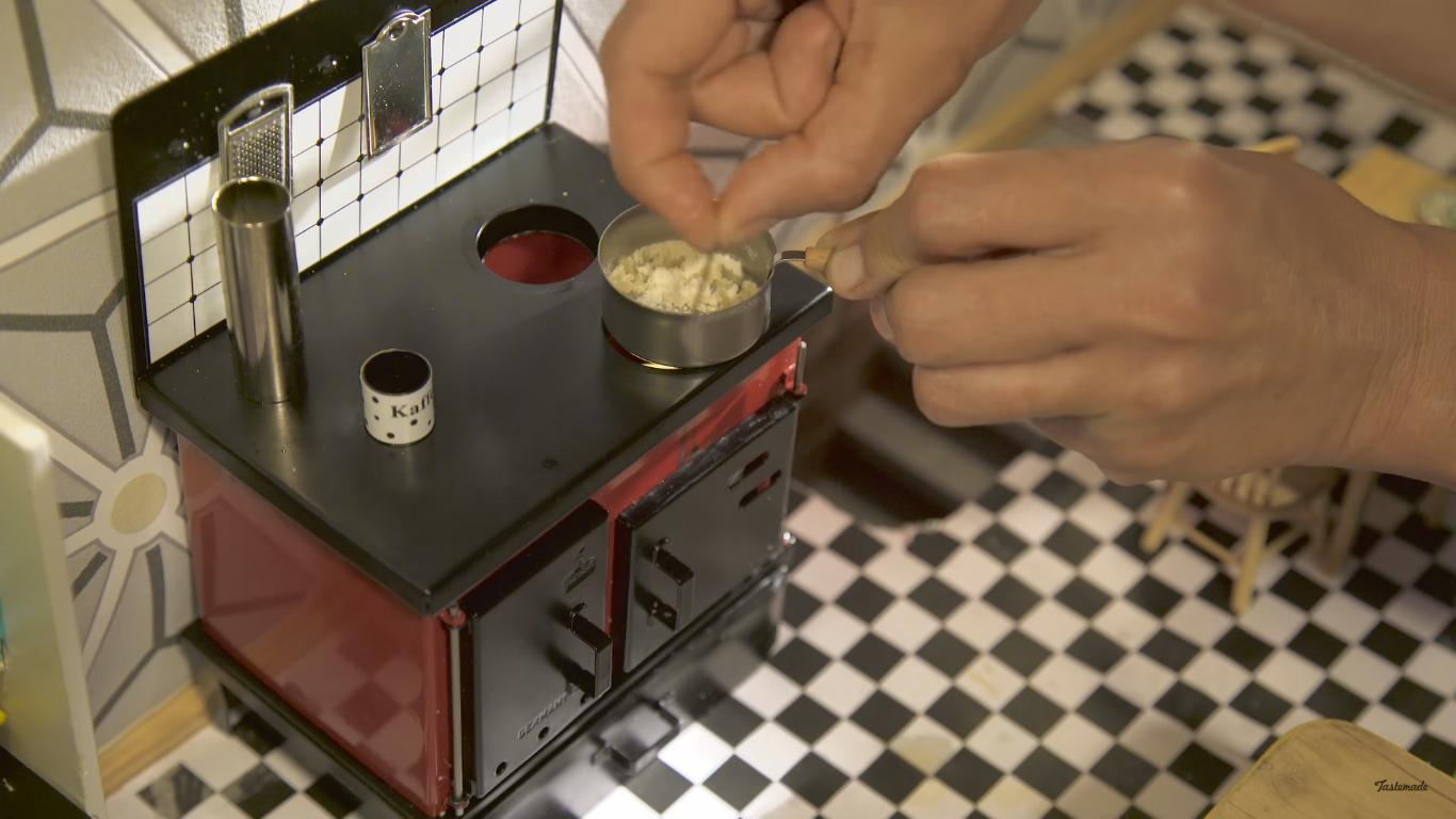Cooking Macaroni and Cheese in a Very Tiny Kitchen