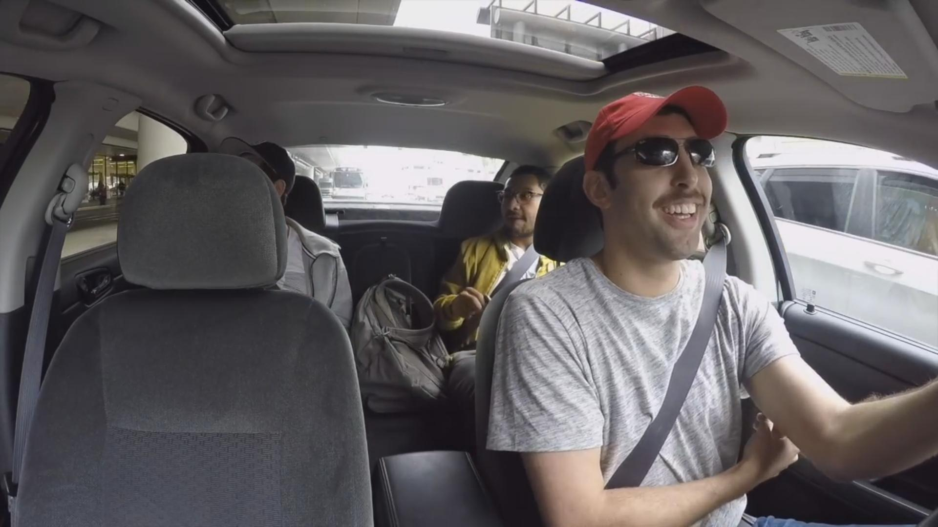He Surprises His Friend With a Fake Uber Ride
