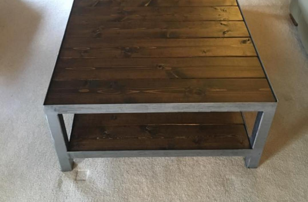 Man Builds Himself a Coffee Table, the Internet Worries for Him