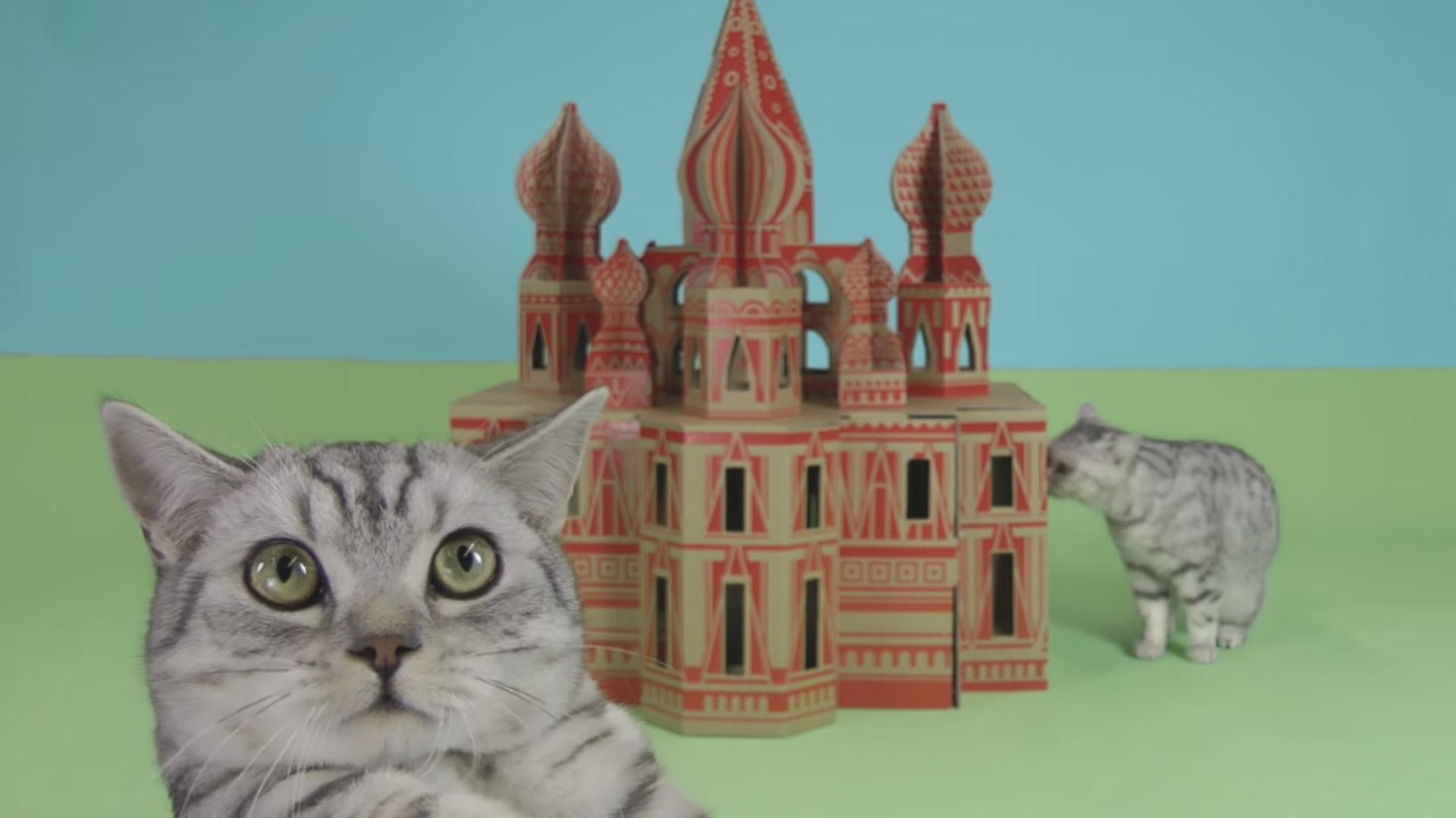 These Guys Recreate Landmarks for Your Cats and Other Small Pets