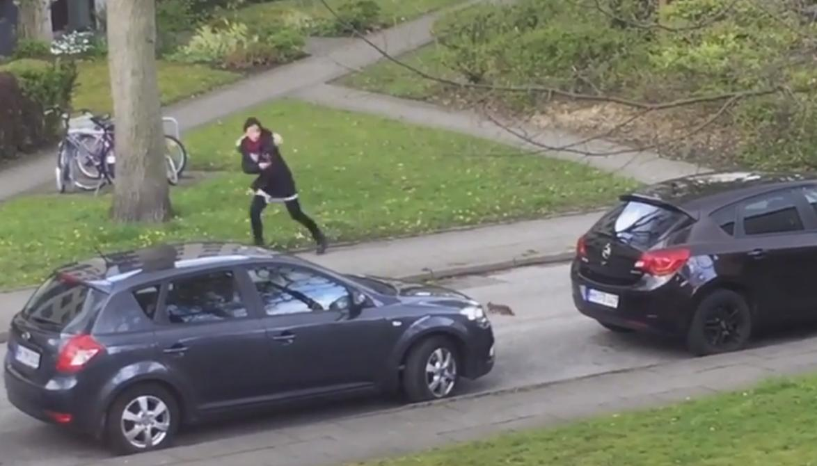 Woman Chased By Squirrel After Failed Attempt to Take a Selfie With It