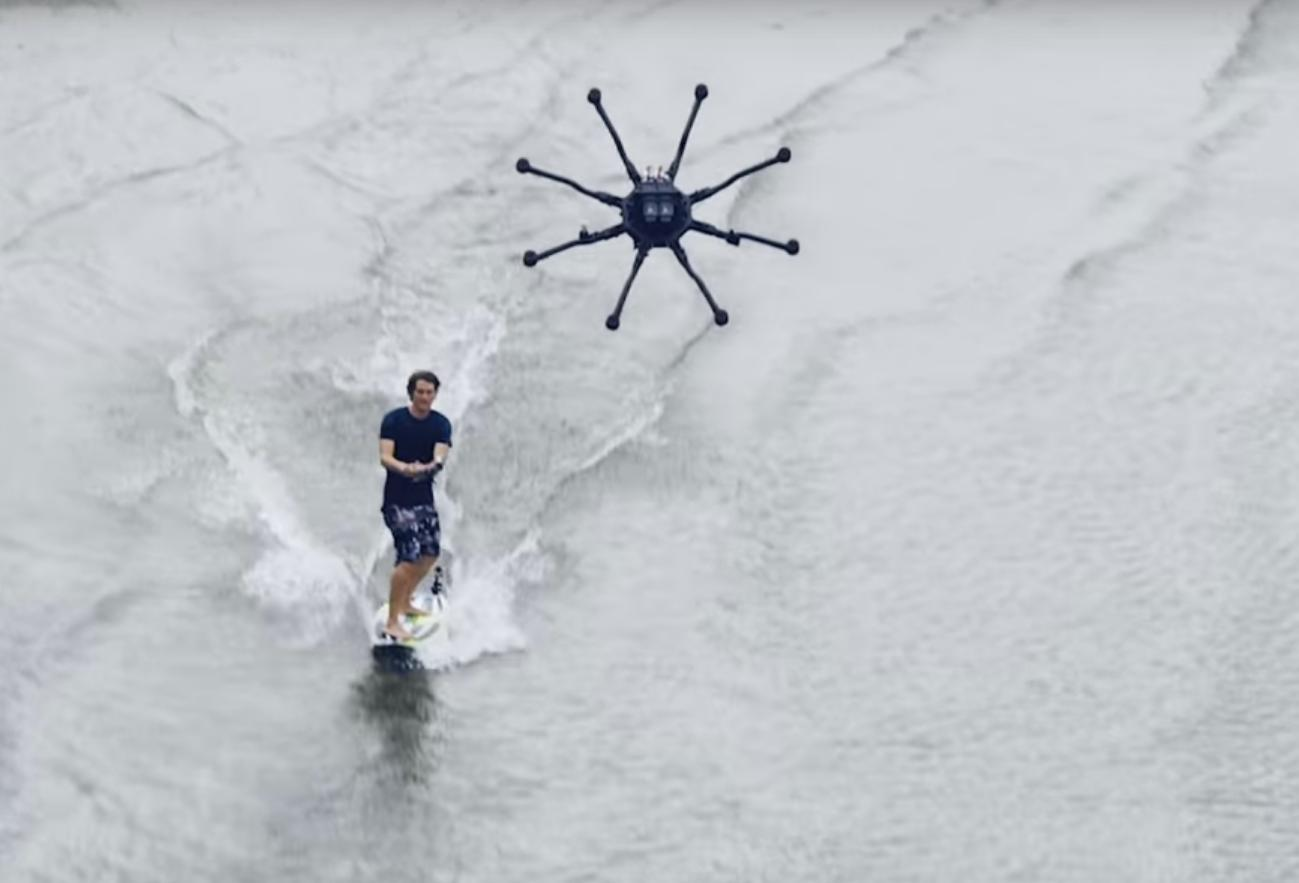 This Drone Company Just Invented a New Sport: Drone Surfing